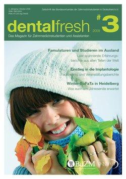 dentalfresh Ausgabe #3 2009